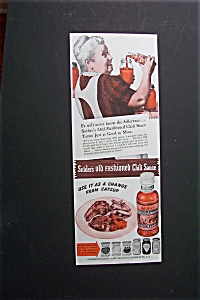 1940 Snider's Chili Sauce with Woman Pouring Sauce (Image1)