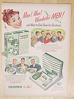 1947 Mennen Gift Sets with Men Getting Gift Sets  (Image1)