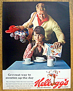 Vintage Ad: 1963 Kellogg's Frosted Flakes (Image1)