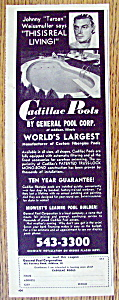 1965 Cadillac Swimming Pools with Johnny Weissmuller (Image1)