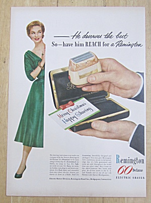 1953 Remington 60 Deluxe Electric Shaver w/ Shaver (Image1)