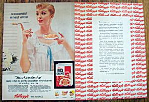 Vintage Ad: 1957 Kellogg's Rice Krispies (Image1)