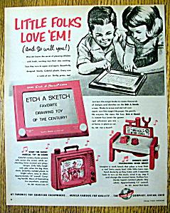 Vintage Ad: 1967 Etch A Sketch (Image1)