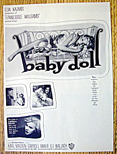 Vintage Ad: 1957 Baby Doll