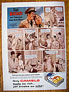 1956 Camel Cigarettes with Sgt. Bilko (Phil Silvers) (Image1)