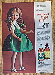 Vintage Ad: 1963 Vermont Maid Doll (Image1)
