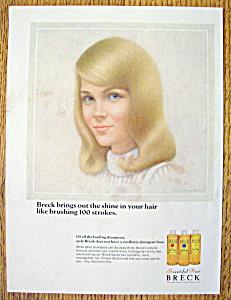 Vintage Ad: 1966 Breck Shampoo (Image1)