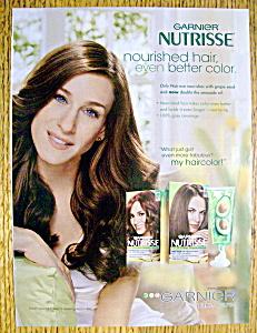 Vintage Ad:2007 Garnier Nutrisse w/Sarah Jessica Parker (Image1)