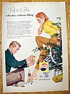 1956 Pepsi Cola (Pepsi) w/Woman Talking to a Man (Image1)