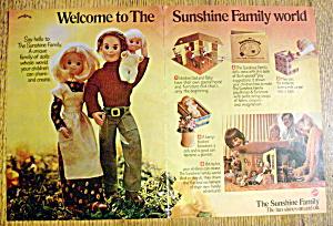 Vintage Ad: 1975 Sunshine Family (Image1)