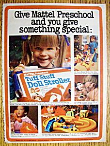 Vintage Ad: 1977 Mattel Preschool Toys (Image1)