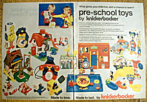 Vintage Ad: 1977 Preschool Toys By Knickerbocker (Image1)