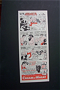 1940 Cream of Wheat with Lil' Abner By Al Capp (Image1)