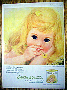 Vintage Ad: 1962 Northern Tissue