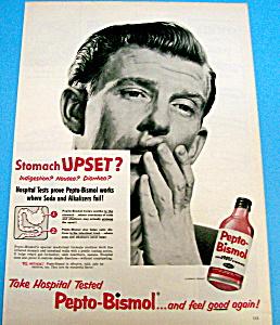 Vintage Ad: 1954 Pepto Bismol (Image1)
