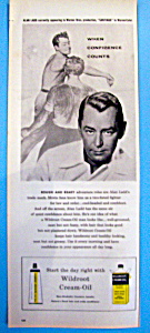 Vintage Ad: 1956 Wildroot Cream Oil W/ Alan Ladd