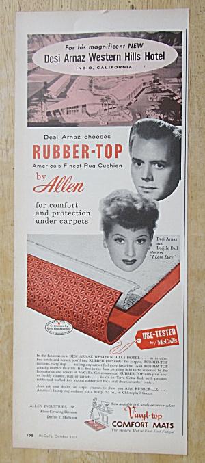 1957 Allen Rubber-Top with Lucille Ball & Desi Arnaz (Image1)