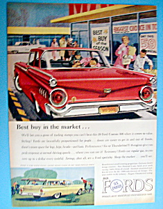 Vintage Ad: 1959 Ford Custom 300