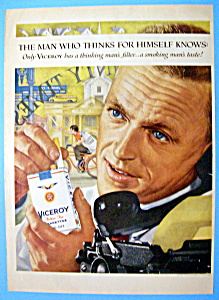 1959 Viceroy Cigarettes with Man On The Pay Phone (Image1)