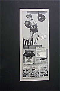 1940 Bosco Milk Amplifier with Boy Punching a Bag (Image1)