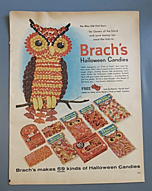1960 Brach's Halloween Candies with an Owl (Image1)