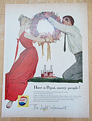 1960 Pepsi-cola (Pepsi) With Couple Getting Married