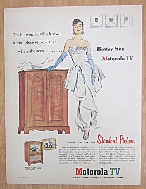 1952 Motorola TV with Standout Picture  (Image1)