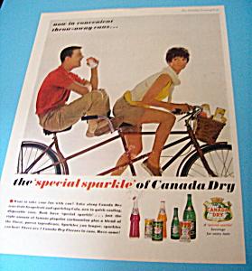 Vintage Ad: 1962 Canada Dry Orange (Image1)