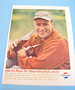 1963 Pepsi-Cola (Pepsi) w/Man Holding Fishing Pole (Image1)