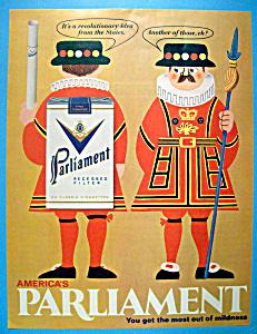 Vintage Ad: 1968 Parliament Cigarettes (Image1)