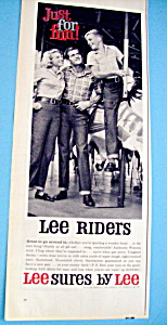 Vintage Ad: 1960 LeeSures By Lee (Image1)