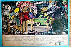 Vintage Ad: 1960 The Night You Dress Up To Stay Home