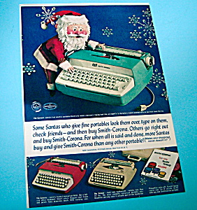 Vintage Ad: 1962 Smith Corona Typewriter (Image1)
