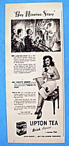 1947 Lipton Tea with Paulette Goddard (Image1)