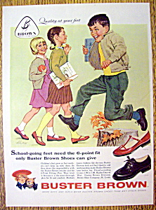 Vintage Ad: 1958 Buster Brown Shoes By Alex Ross (Image1)