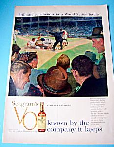 Vintage Ad: 1958 Seagrams VO (Image1)
