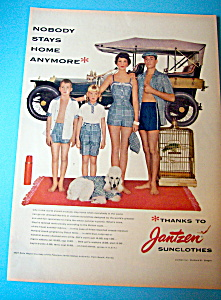 1957 Jantzen Sun Clothes with Matching Outfits (Image1)
