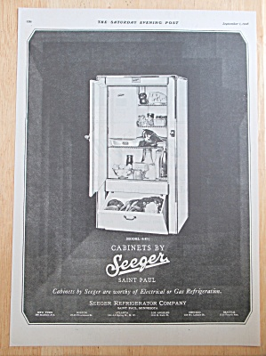 1928 Seeger Cabinets with a Refrigerator (Image1)