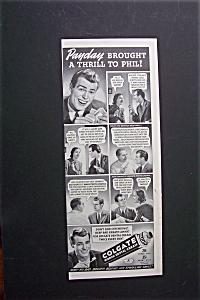 1940 Colgate Dental Cream with Man & Woman  (Image1)