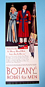 1948 Botany Robes For Men with Woman Staring At Man (Image1)