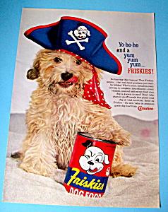 Vintage Ad: 1960 Friskies Dog Food (Image1)