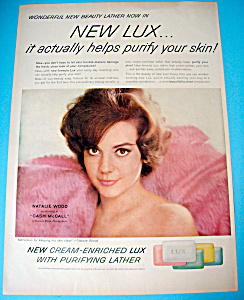 Vintage Ad: 1960 Lux Bar Soap With Natalie Wood