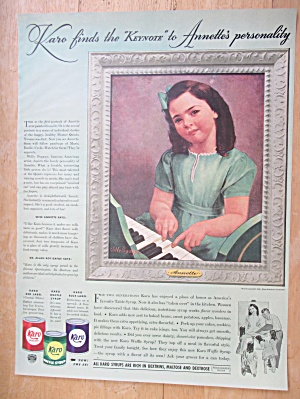 1940 Karo Syrup with Annette Dionne (Dionne Quints) (Image1)