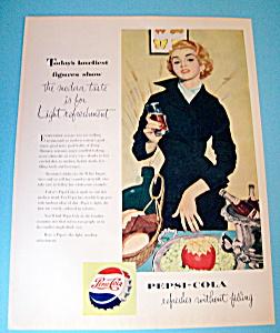 Vintage Ad: 1953 Pepsi-Cola (Image1)