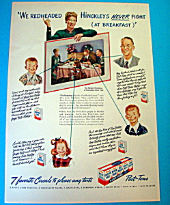 Vintage Ad: 1947 Post Tens Variety Pack
