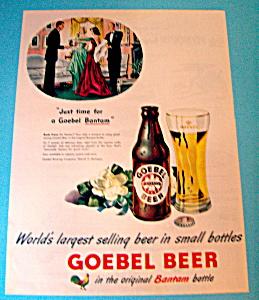 Vintage Ad: 1948 Goebel Beer (Image1)