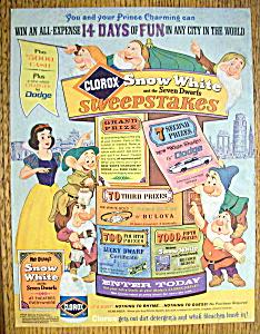 1967 Clorox with Snow White & 7 Dwarfs (Image1)