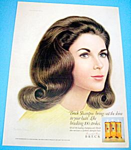 Vintage Ad: 1967 Breck Shampoo (Image1)