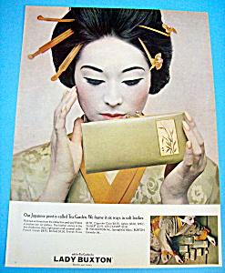 Vintage Ad: 1965 Lady Buxton (Image1)