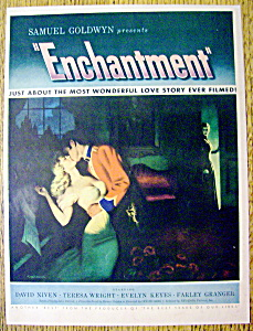 1949 Enchantment W/ Woman Kissing A Soldier